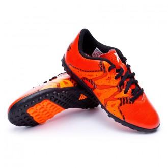 Bota  adidas Jr X 15.4 Turf Bold orange