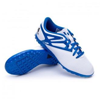 Bota  adidas Jr Messi 15.4 Turf Plata-Azul