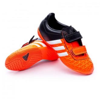Zapatilla  adidas Jr Ace 15.4 IN Velcro Solar Orange