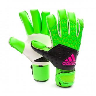 Glove  adidas Ace Zones Fingertip Green-Navy blue