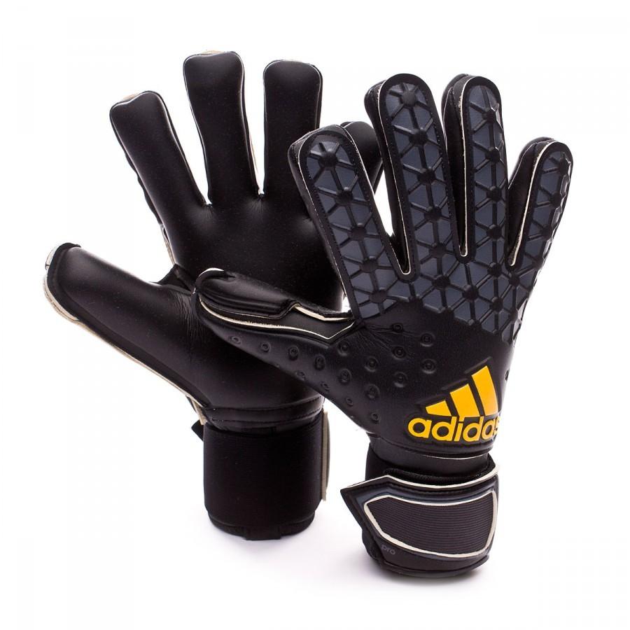 glove adidas ace pro classic 2016 black soloporteros. Black Bedroom Furniture Sets. Home Design Ideas