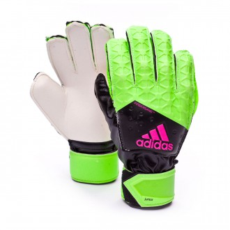 Guante  adidas Jr Ace Fingersave Verde-Marino