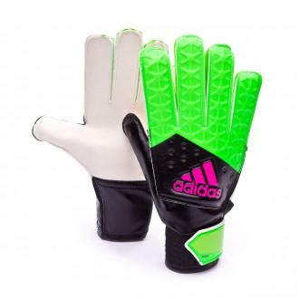 Glove  adidas Jr Ace Green-Navy blue