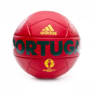 Ballon  adidas Euro 16 OLP Portugal Grenat