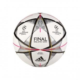 Balón  adidas Finale Milano OMB White-Black-Silver metallic