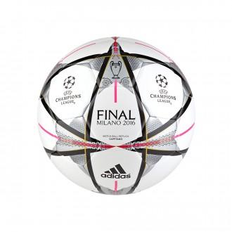 Balón  adidas Finale Milano Capitano White-Black-Silver metallic