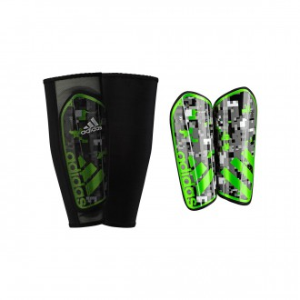 Shinpads  adidas Ghost Graphic Gray-Green