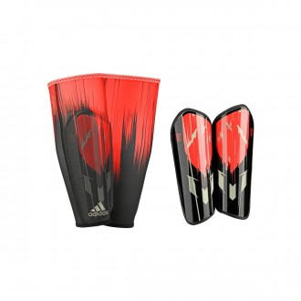 Shinpads  adidas Messi 10 Pro Black-Red