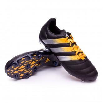 Bota  adidas Ace 16.2 FG/AG Piel Core black-Silver metallic-Solar gold