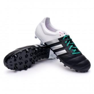 Bota  adidas Ace 15.3 FG/AG Piel Core black-Matte silver-White