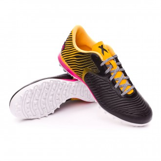 Bota  adidas X 15.2 CG Turf Core black-Solar gold-Shock pink