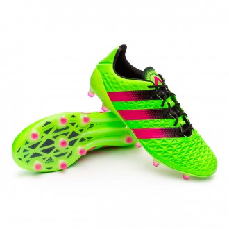 Chaussure  adidas Ace 16.1 FG/AG Solar green-Shock pink-Core black