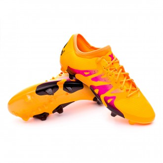 Boot  adidas X 15.2 FG/AG Solar gold-Core black-Shock pink