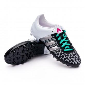 Bota  adidas Jr Ace 15.3 FG/AG Core black-Matte silver-White