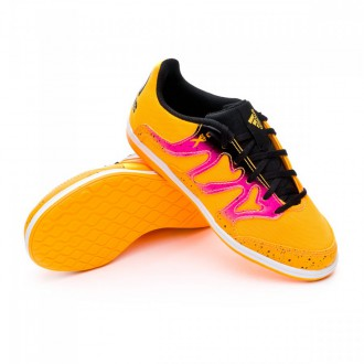 Zapatilla  adidas Jr X 15.4 ST Solar gold-Shock pink-Core black