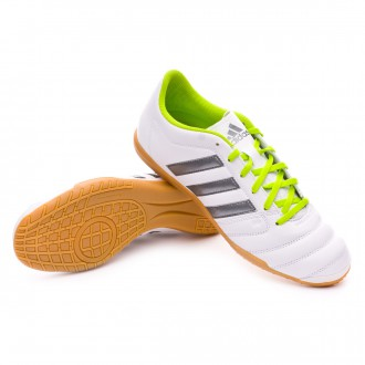 Zapatilla  adidas Gloro 16.2 IN White-Lime