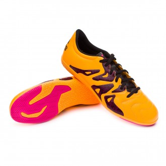Zapatilla  adidas X 15.3 IN Piel Solar gold-Core black-Shock pink