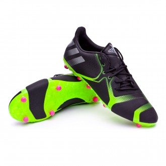 Chaussure  adidas Ace 16+ TKRZ Core Black-Metallic-Solar green