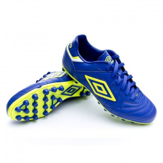 Boot  Umbro Speciali Eternal Club AG Clematis Blue-Safety Yellow-White