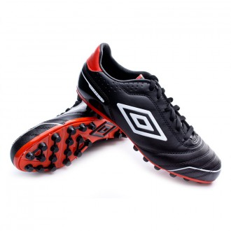 Bota  Umbro Classico 3 AG Black-White-Red