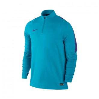 Sweatshirt  Nike Drill Top Ciano