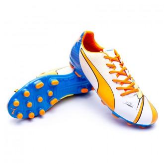 Boot  Puma Evopower 4.2 POP AG White-Orange clown-Electric blue lemonade