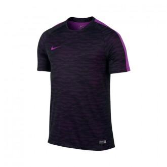 Camiseta  Nike Flash Training Decept Black-Vivid Purple