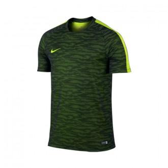 Camiseta  Nike Flash Training Decept Black-Volt