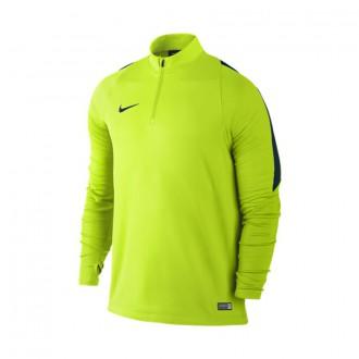 Sweatshirt  Nike Drill Top Volt-Black