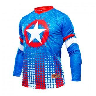 Camisola  Rinat M/L Patriot Azul-Vermelho