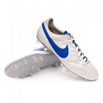 Bota  Nike Tiempo Premier SE Metallic White-Blue sapphire