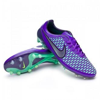 Chuteira  Nike Magista Opus ACC FG Hyper Grape-Metallic silver-Green glow
