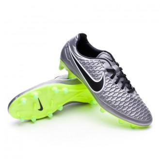Bota  Nike Magista Orden FG Metallic pewter-Black-White-Ghost green