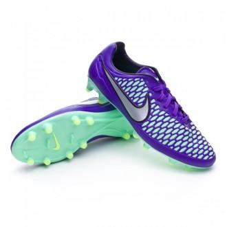 Chuteira  Nike Magista Orden FG Hyper grape-Metallic silver-Ghost green