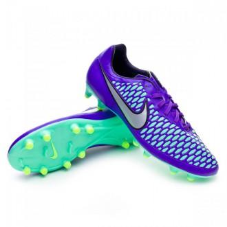 Chaussure  Nike Magista Onda FG Hyper grape-Metallic silver-Ghost green
