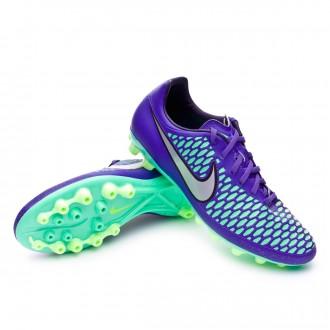 Bota  Nike Magista Onda AG-R Hyper grape-Metallic silver-Ghost green