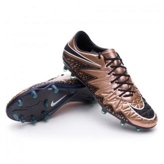 Bota  Nike Hypervenom Phinish FG Metallic red-Black-Green glow-White