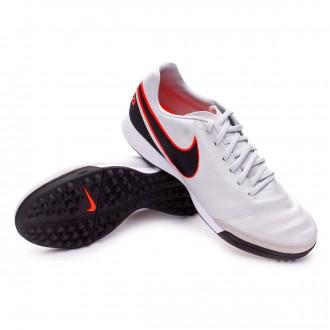 Boot  Nike Tiempo Mystic V Turf Pure platinum-Black-Metallic silver