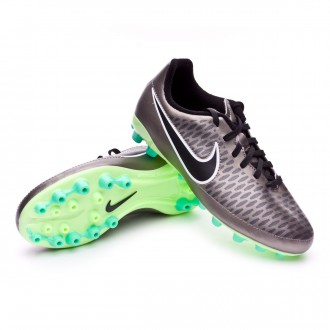 Chuteira  Nike Jr Magista Onda AG Metallic pewter-Black-White-Ghost green