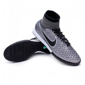 Boot  Nike MagistaX Proximo IC Metallic pewter-Black-White-Ghost green