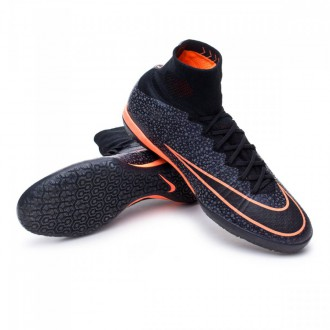 Boot  Nike MercurialX Proximo IC Black-Bright mango
