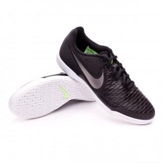 Boot  Nike MagistaX Pro IC Black-Metallic pewter-White