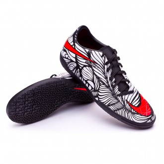 Boot  Nike Hypervenom Phelon II Neymar IC Black-Bright crimson-White