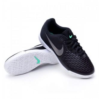Boot  Nike Jr MagistaX Pro IC Black-Metallic pewter-White