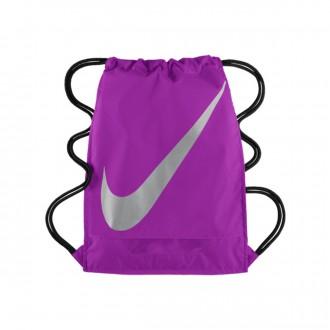 Bag  Nike Gymsack FB 3.0 Vivid purple-Metallic silver