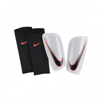 Espinillera  Nike Mercurial Lite White