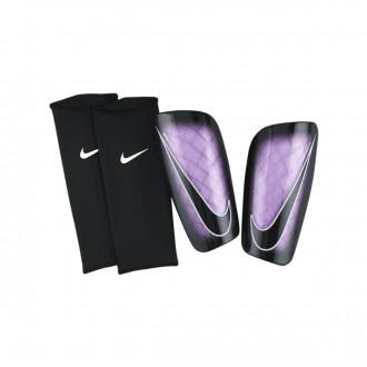 Espinillera  Nike Mercurial Lite Urban lilac-White-Black