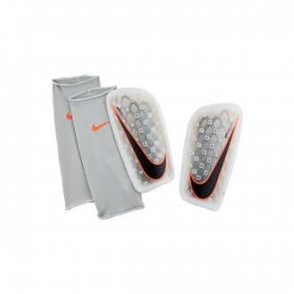 Espinillera  Nike Mercurial Flylite White