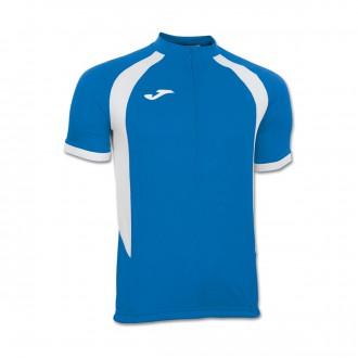 Camiseta  Joma Giro Royal-Blanca