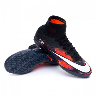 Boot  Nike MercurialX Proximo IC CR7 Savage Beauty Black-White-Total crimson-Purple